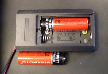 установка батарейки в маску хамелион